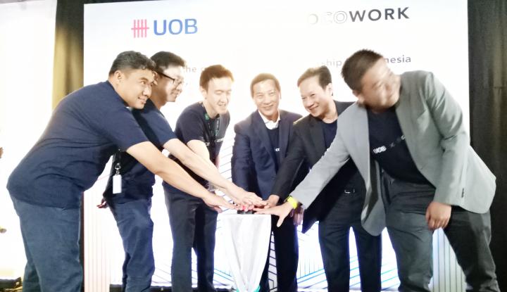Foto Berita Jalin Kemitraan, Bank UOB dan COCOWORK Bantu Startup Kelola Biaya Operasional