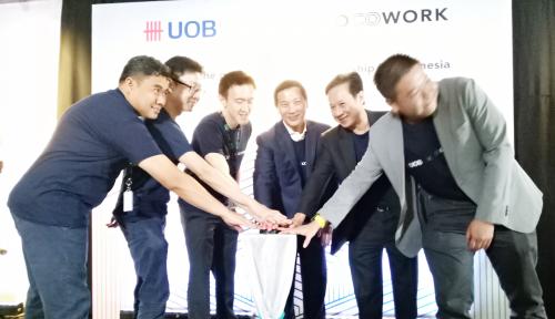 Foto Jalin Kemitraan, Bank UOB dan COCOWORK Bantu Startup Kelola Biaya Operasional
