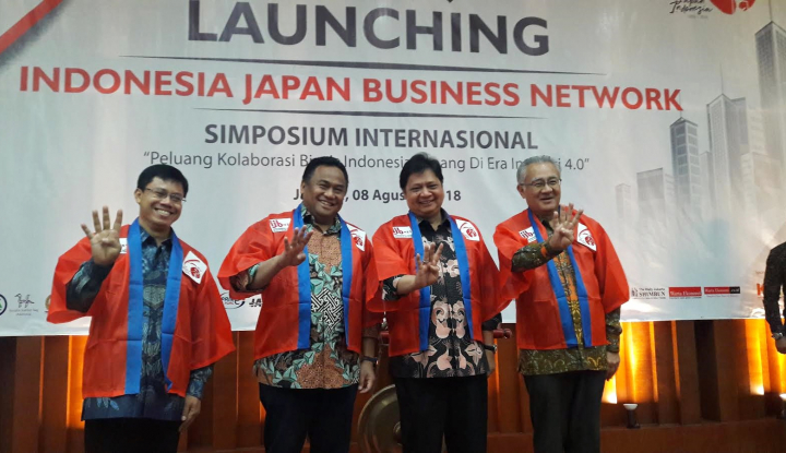 Foto Berita Perkuat Kerja Sama Indonesia-Jepang, Airlangga Resmikan IJB-Net