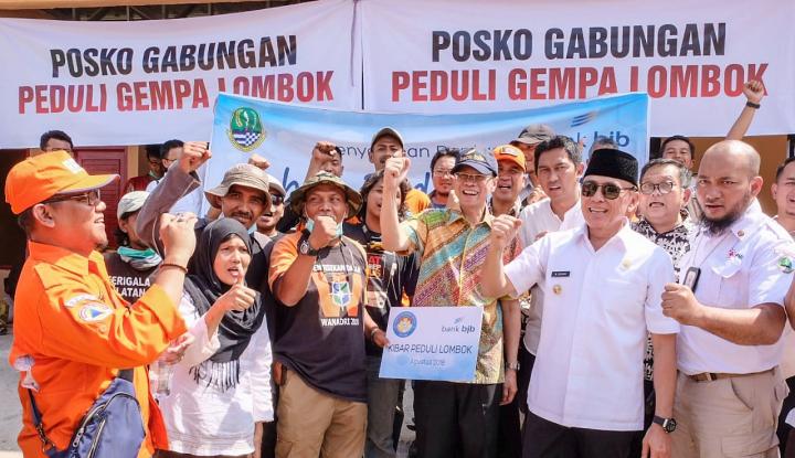Foto Berita BJB Gelontorkan Rp1,6 M untuk Korban Gempa Lombok