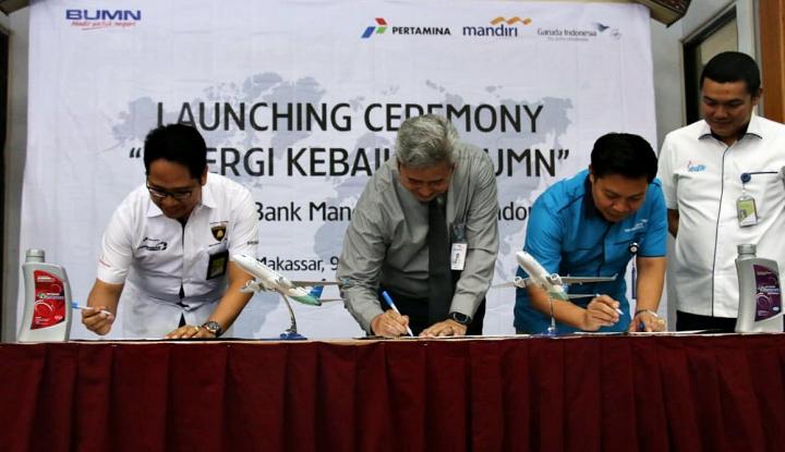 Foto Berita Tiga BUMN Sinergi Dorong Sulawesi Cashless Society