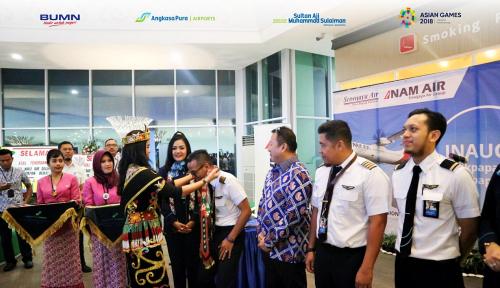 Foto Nam Air Buka Penerbangan ke Daerah Pedalaman Malinau dan Tanjung Selor