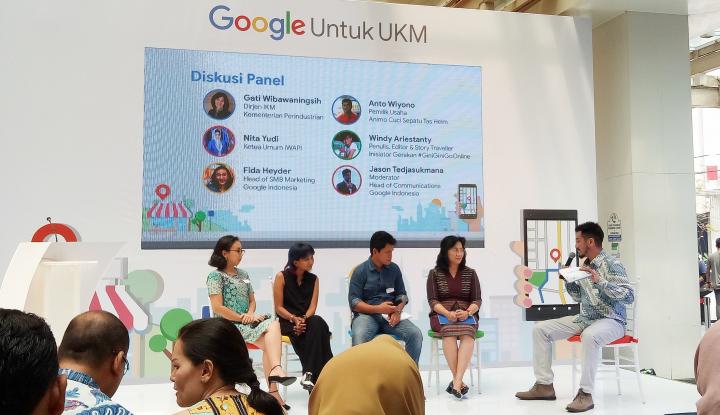 Foto Berita Google Umumkan Pencapaiannya Latih Satu Juta UKM Untuk Go Online