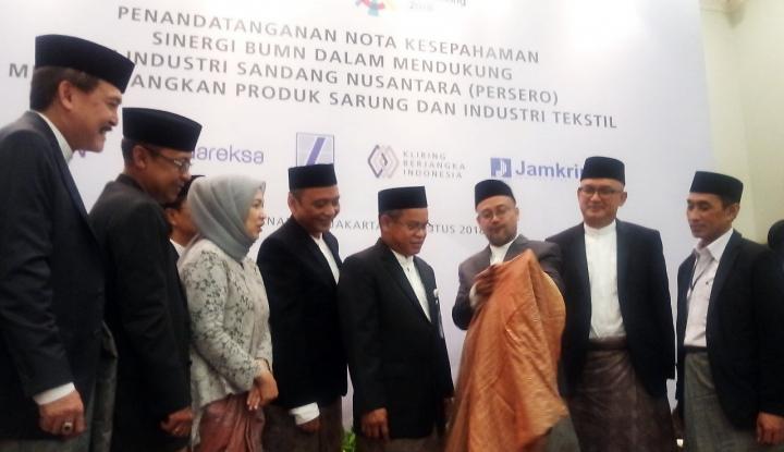 Foto Berita Danareksa Dukung PT Industri Sandang Nusantara Kembangkan Industri Tekstil