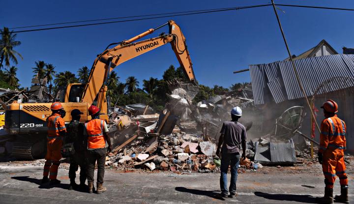 Foto Berita Sebanyak 400 Rumah Disiapkan untuk Korban Gempa Lombok