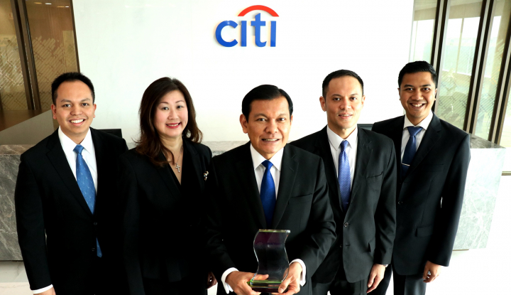 Foto Berita Citibank Terima Penghargaan Digital Banking Initiative of the Year-Indonesia