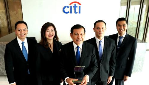 Foto Citibank Terima Penghargaan Digital Banking Initiative of the Year-Indonesia