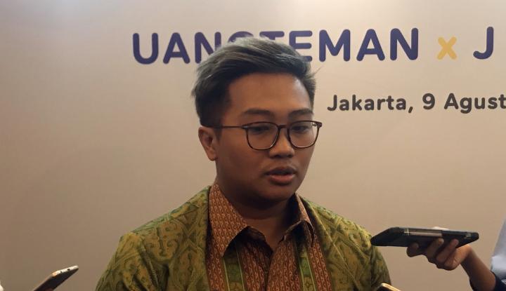 Foto Berita Dukung Fintech, J Trust Bank Berikan Kredit Rp15 M ke UangTeman