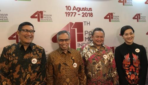 Foto OJK Dorong Pasar Modal untuk Perekonomian Indonesia