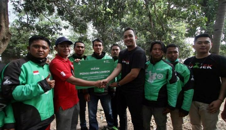 Foto Berita Gandeng TNI AU dan Kominfo, Go-Jek Salurkan Bantuan Gempa Lombok