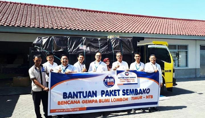 Foto Berita YBM-BRI Salurkan Survival Kit untuk Para Pengungsi Gempa Lombok