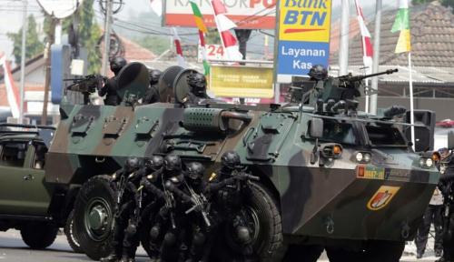 Foto Polda Jabar dan Kodam III Siliwangi Sinergi Latihan Pengamanan Asian Games