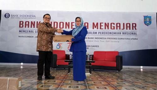 Foto BI Sumut Prihatin Soal Anjloknya Rupiah