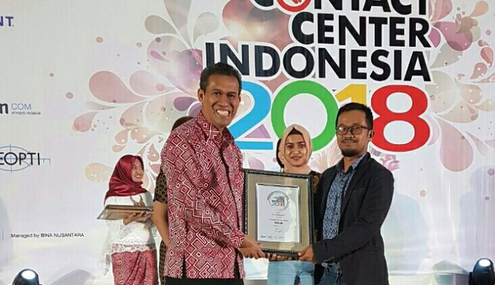 Foto Berita Bukalapak Raih The Best Contact Center Indonesia 2018