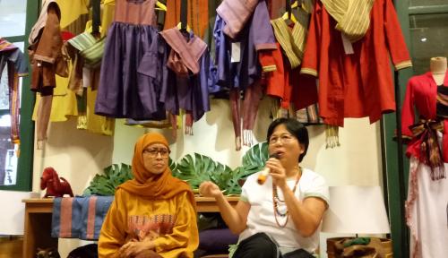 Foto Torajamelo Pamerkan Produk Tenun Terbaik Nusantara di Asian Textiles Exhibiton
