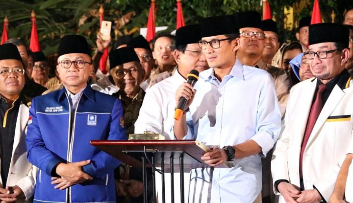 Foto Berita Sandiaga Lebih Kaya Ketimbang Prabowo
