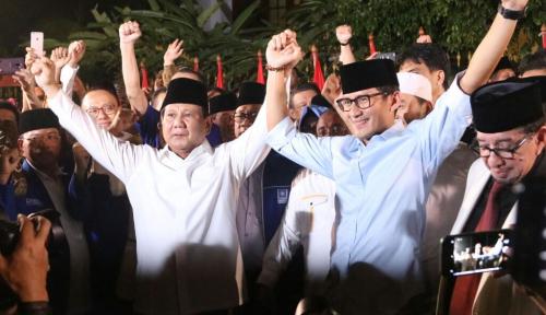 Foto Kubu Prabowo-Sandiaga 'Miskin' Istilah?