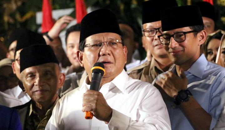 Foto Berita Soal Wagub DKI, Prabowo Ikut Apa Kata Taufik