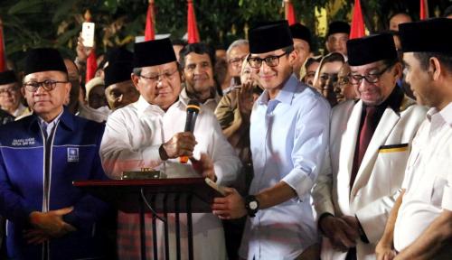 Foto Indonesia Butuh Pemimpin Kuat dan Tegas, PAN: Prabowo-Sandi Pilihannya