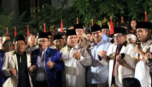Foto Koalisi Prabowo Lagi-Lagi Ribut Soal DPT, Ga Bosan?