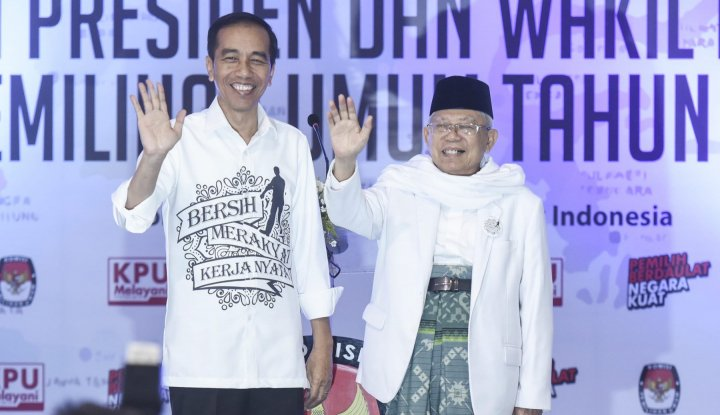 Foto Berita Hasil Survei, Suara Emak-Emak Masih Milik Jokowi-Maruf