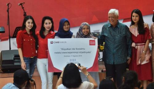 Foto CIMB Adakan Kompetisi Ide CSR