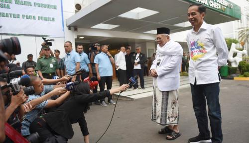 Foto Ma'ruf Amin Tetap Jabat Ketum MUI, PAN 'Gemes'