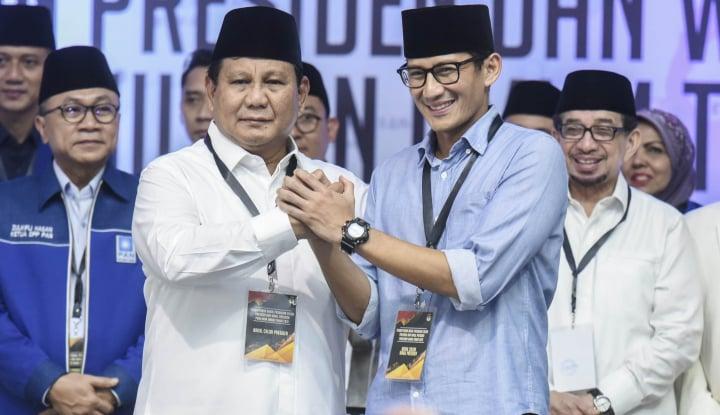 Foto Berita Prabowo Disebut Pasif Konsolidasi, Jawaban BPN Prabowo-Sandi 'Logis'