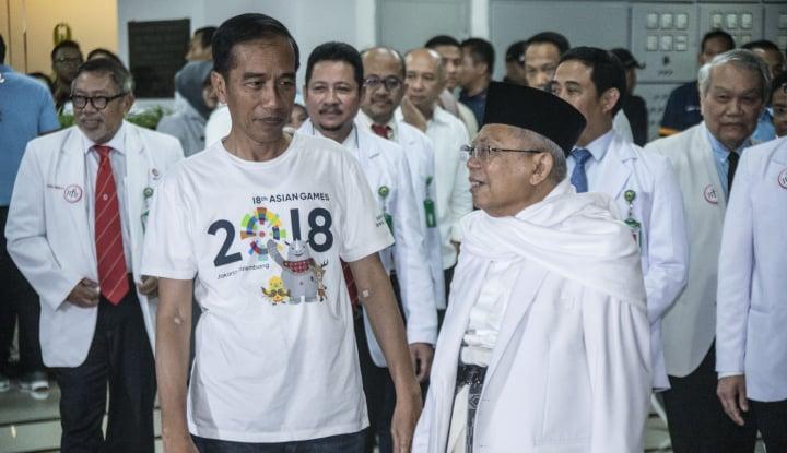 Foto Berita Ma'ruf Amin Diminta Lepas Ketum MUI, PPP: Mundur ya Enggak Perlu