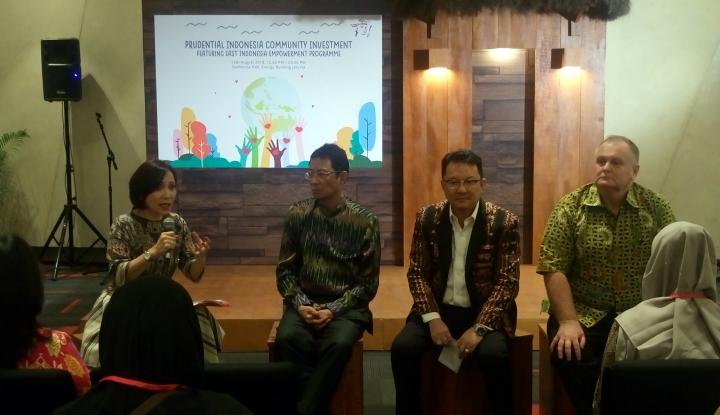 Foto Berita Prudential Sasar Pemberdayaan Masyarakat Indonesia Timur