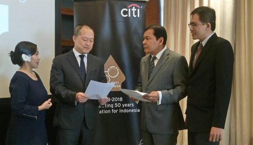 Foto Kredit Citibank Tumbuh 19% di Semester I 2018