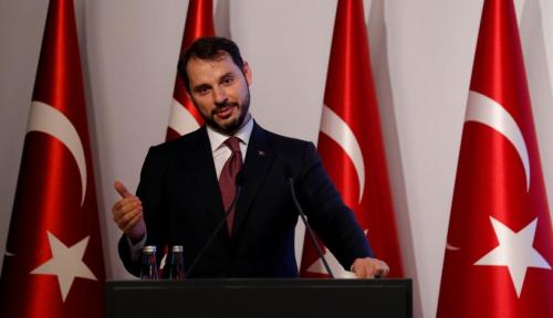 Foto Menkeu Turki: Sistem Keuangan Turki Kuat