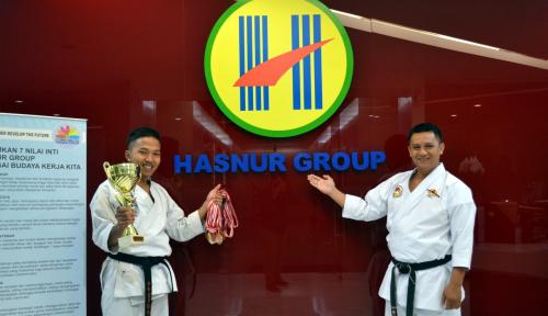 Foto Juara Karate Dunia Berlabuh ke Hasnur Group