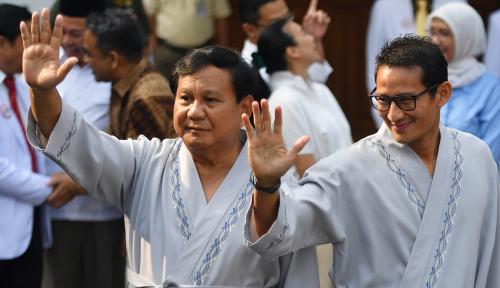 Foto Sowan ke Rumdin Wapres, Prabowo Malah Tak Dapat Dukungan dari JK
