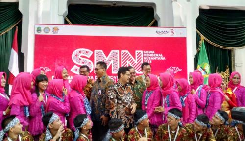 Foto Lewat SMN, Delapan BUMN Kenalkan Potensi Indonesia