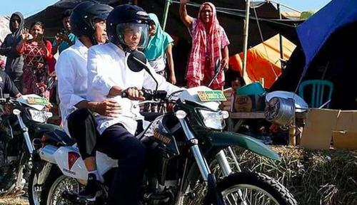 Foto Tahun Politik, Jokowi Tak Pernah Libur?