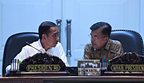 Foto Jokowi Disebut Santri, Wapres JK Kaget