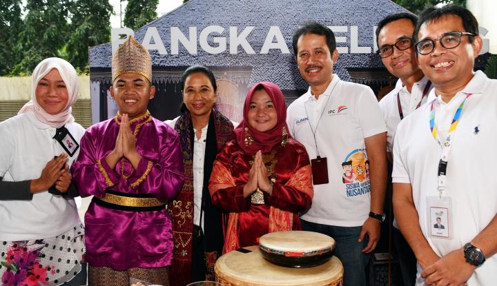 Foto Berita IPC Fasilitasi Program Siswa Mengenal Nusantara di Babel