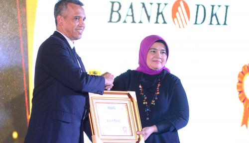 Foto Kinerja Positif, Bank DKI Kebanjiran Penghargaan