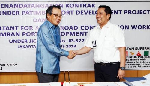 Foto Kementerian PUPR Targetkan Jalan Akses Pelabuhan Patimban Selesai Akhir 2019