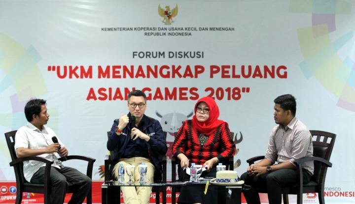 Foto Berita Lewat Asian Games, UMKM Siap Tembus Pasar Ekspor