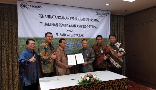 Foto Kerja Sama dengan Bank Aceh Syariah, Askrindo Syariah Bidik Potensi Ujroh Rp8 M