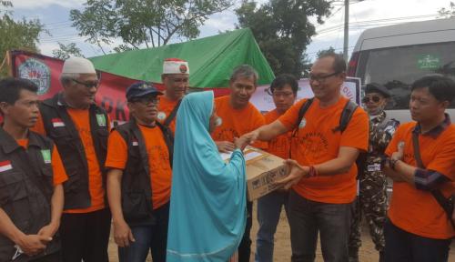 Foto Gapki Serahkan Bantuan Tahap II kepada Korban Gempa Lombok
