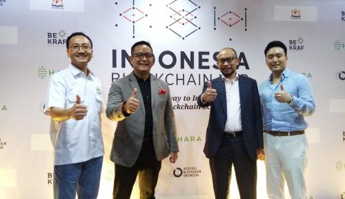 Foto Indonesia Blockchain Hub Diharapkan Setara Tingkat Global