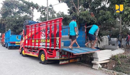 Foto Rehabilitasi Fasilitas Publik-Rumah Tahan Gempa di Lombok Diintensifkan