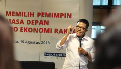 Foto Pujian Misbakhun untuk Keberpihakan Jokowi Pada UMKM