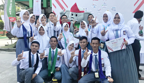 Foto Perum Jamkrindo Ajak Siswa Gorontalo Mengenal Lampung