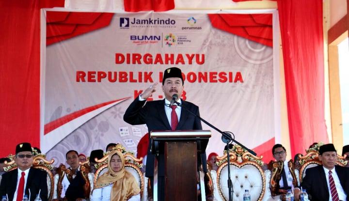 Foto Berita Jamkrindo Rayakan HUT RI Bersama Masyarakat Gorontalo