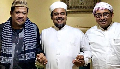Foto Fadli Zon Kembali Temui Rizieq, Karena FPI Belum Serukan 2019 Ganti Presiden?