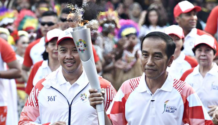 Foto Berita Via Vallen Sukses Bikin Jokowi Goyang-Goyang
